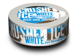 Nick And Johnny Crushed Ice White Pussinuuska