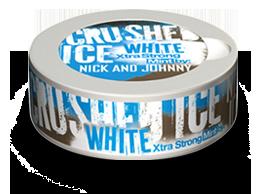 Nick And Johnny Crushed Ice White Pussinuuska