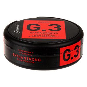General G.3 Slim Extra Strong Pussinuuska
