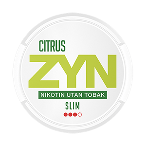 ZYN Slim Citrus Strong Pussinuuska