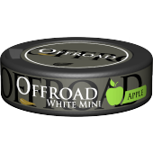 Offroad Apple White Mini Pussinuuska