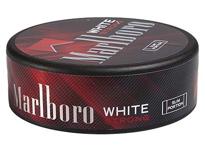 Marlboro Strong White Pussinuuska