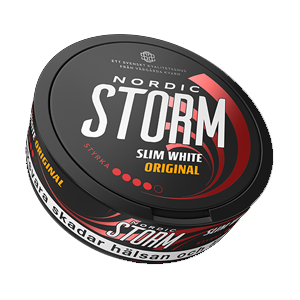 Nordic Storm Slim White Original Pussinuuska