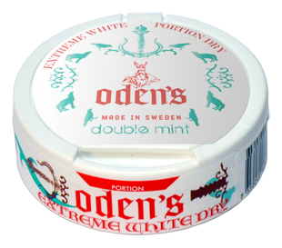 Oden's Double Mint Extreme White Dry Pussinuuska