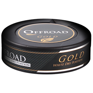 Offroad Gold White Dry Pussinuuska